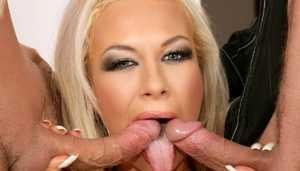 Scorching Blonde Will Get Her Video XXX Holes Plugged | Video XXX