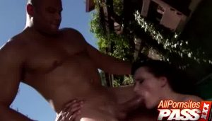 Sweet Tits Honey Via Approach Of The Pool   VideoXXX.Tv
